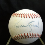 Signed Baseball - Selling Your Household Items in Maryland call Full House Auctions