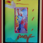 Peter Max Painting - Estate Auctions in Maryland by Full House Auctions