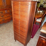 antique-tiger-oak-sheet-music-file-drawer-library-chest-tindale-cabinet-ny