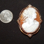 Antique Victorian Cameo Broach - Antique Jewelry for Sale in MD