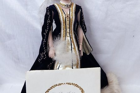 1985 Franklin Mint Doll Empress Alexandria Czarina of Russia